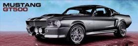 FORD SHELBY GT 500 plakat 158x53cm