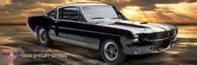 FORD SHELBY 66 GT plakat 158x53cm