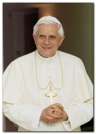 Papa Benedetto Xvi plakat obraz 50x70cm (1)