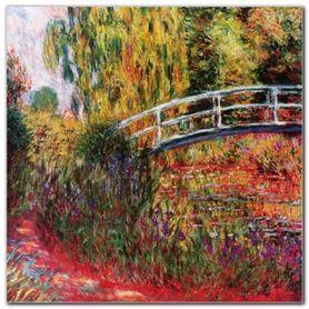 Ponte Giapponese plakat obraz 95x95cm