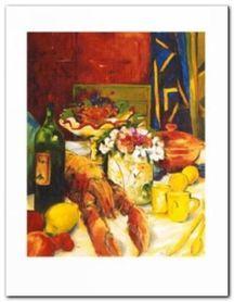 Sommer-Soiree plakat obraz 70x90cm