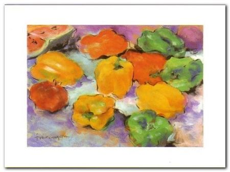 Peppers plakat obraz 80x60cm (1)
