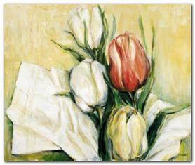 Tulipa Antica plakat obraz 116x98cm