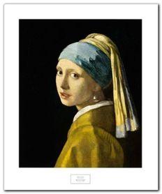 Girl With Turban plakat obraz 50x60cm