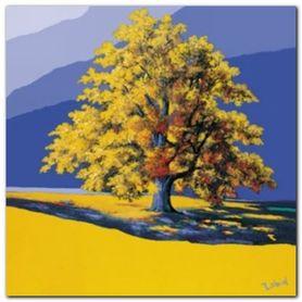 Der Goldene Baum plakat obraz 70x70cm