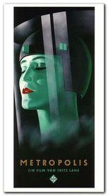 Metropolis plakat obraz 55x100cm
