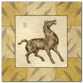 Asian Horse I plakat obraz 33x33cm
