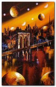 Manhattan plakat obraz 55x85cm