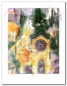 Cinque Terre plakat obraz 70x90cm