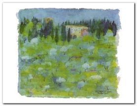 Toscana plakat obraz 90x70cm