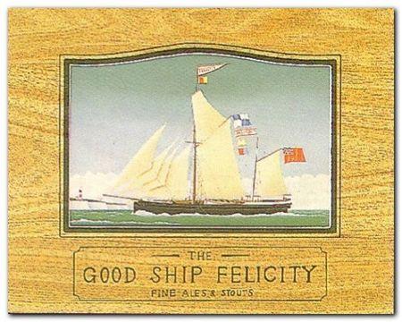 Good Ship Laura plakat obraz 30x24cm (1)