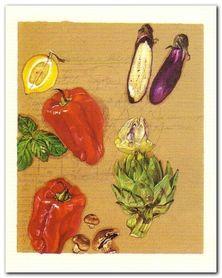 Greek Salad plakat obraz 40x50cm