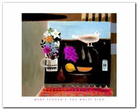 White Bird plakat obraz 50x40cm