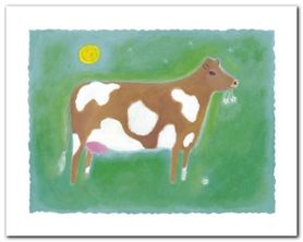 The Cow plakat obraz 30x24cm