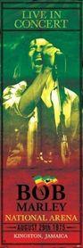 BOB MARLEY CONCERT plakat 53x158cm