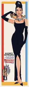 AUDREY HEPBURN plakat 30x90cm