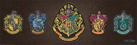 HARRY POTTER HERB plakat 90x30cm (1)
