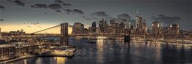 NEW YORK plakat 90x30cm