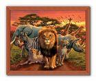 AFRICAN KINGDOM plakat 50x40cm (3)