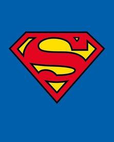 SUPERMAN CLASSIC LOGO plakat 40x50cm