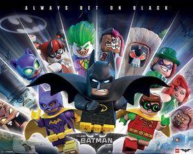 LEGO BATMAN plakat 50x40cm