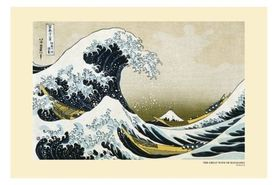 GREAT WAVE plakat 91x61cm