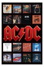 AC DC ALBUM COVERS plakat 61x91cm