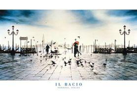 IL BACIO plakat 91x61cm