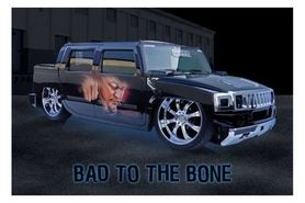BAD TO THE BONE plakat 91x61cm