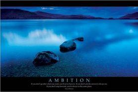 AMBITION plakat 91x61cm
