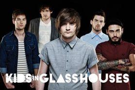 KIDS IN GLASS HOUSES plakat 91x61cm