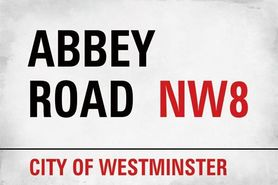 ABBEY ROAD plakat 91x61cm