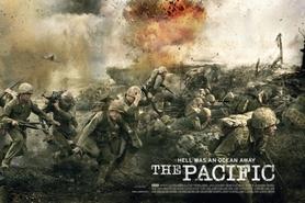THE PACIFIC plakat 91x61cm