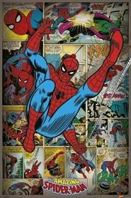 SPIDER MANN RETRO plakat 61x91cm