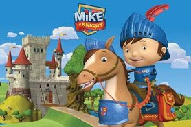 MIKE THE KNIGHT plakat 91x61cm