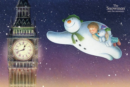THE SNOWMAN plakat 91x61cm (1)
