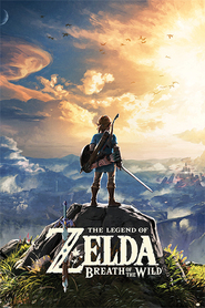 THE LEGEND OF ZELDA plakat 61x91cm