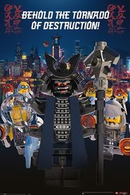LEGO NINJAGO MOVIE plakat 61x91cm