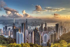 HONG KONG plakat 91x61cm