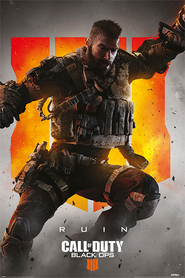 CALL OF DUTY BLACK OPS 4 plakat 61x91cm