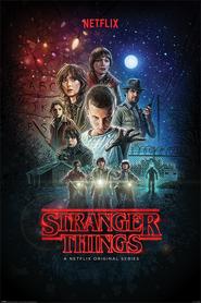 STRANGER THINGS plakat 61x91cm