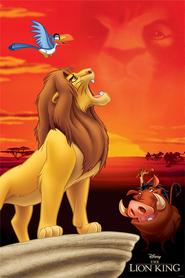KRÓL LEW THE LION KING plakat 61x91cm