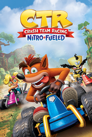 CRASH TEAM RACING plakat 61x91cm