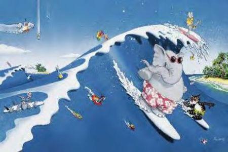 THE BIG SURF plakat 91x61cm (1)