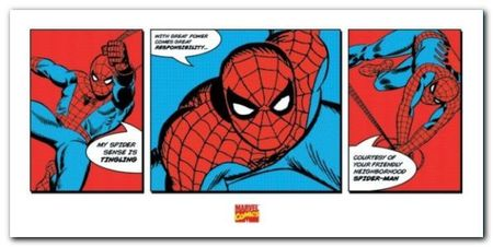 Spider-mann plakat obraz 100x50cm (1)