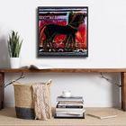 Horses plakat obraz 40x40cm (2)