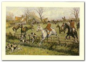Hunting plakat obraz 70x50cm