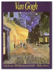 Cafe De Nuit plakat obraz 60x80cm