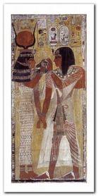 The Tomb Of Seti plakat obraz 50x100cm