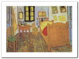 Chambre Van Gogh plakat obraz 80x60cm